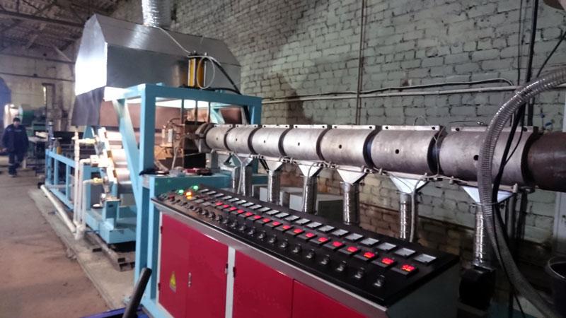 Производство георешетки методом экструзии