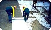 Геотекстиль для укрытия бетона