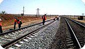 При строительстве железных дорог применяется геотекстиль Текспол