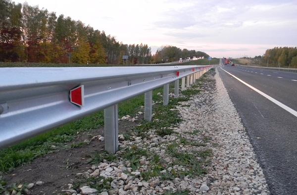 Одностороннее дорожное ограждение 11ДО