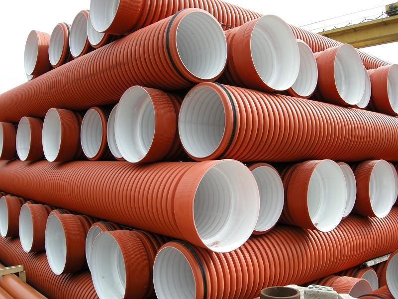 Труба двухслойная для наружной канализации