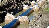 Балластировка трубопроводов
