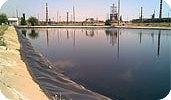 Геомембрана для промышленных бассейнов