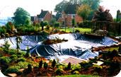 Использование геомембран в разрезе создания искусственных водоемов