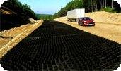 Использование объемного геосинтетика в области дорожного строительства