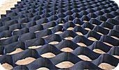 Георешетка Техполимер- это функциональная сотовая конструкция, изготовленная из полимерных лент, скрепленных между собой в шахматном порядке