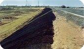 Геосетка для укрепления откосов и насыпей