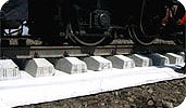 Применение геотекстиля в строительстве железных дорог