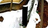 дренажная система для отвода воды от фундаментов здания