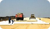 Геотекстиль дорнит - в дорожном строительстве