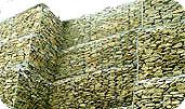 Габионы коробчатой формы с армопанелью