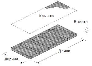 Матрац Рено - эскиз