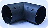 Угольник 90° для дренажных труб